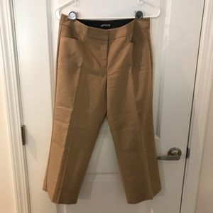 Express tan ankle pant - excellent condition!